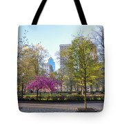 April In Rittenhouse Square Tote Bag