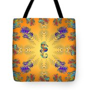 Aquarium Glow Oranges Tote Bag