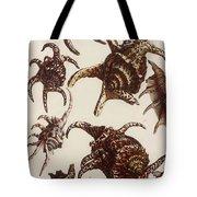 Aquatic Animals - Conch - Shells - Snails Tote Bag