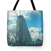 Architectural Skies Tote Bag