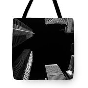 Architecture Black White  Tote Bag