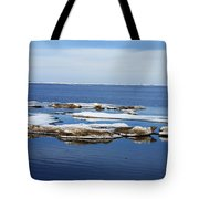 Arctic Ice Tote Bag