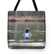 Arctic Loon Tote Bag