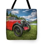 Arriving In Style Tote Bag by Adrian Evans