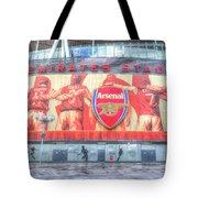 Arsenal Football Club Emirates Stadium London Tote Bag