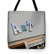 Art On The Wall Tote Bag