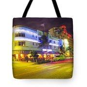 Art Deco In Miami Tote Bag