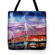 Arthur Ravenel Jr Bridge Charleston Tote Bag
