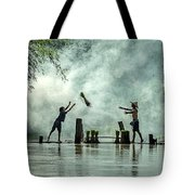 Asian Farmers Earn Rice Fields Tote Bag