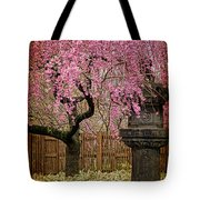 Asian Spring Tote Bag by Chris Lord