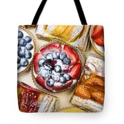 Assorted Tarts And Pastries Tote Bag