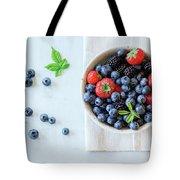 Assortment Of Berries Tote Bag