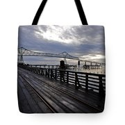 Astoria-megler Bridge 4 Tote Bag