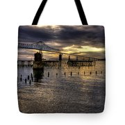 Astoria-megler Bridge 5 Tote Bag