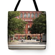 At The National Law Enforcement Officers Memorial In Washington Dc Tote Bag