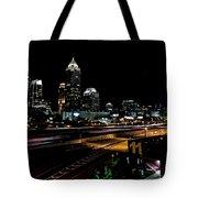 Atlanta Expressway Tote Bag