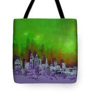 Atlanta Skyline 4 Tote Bag