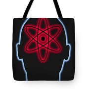 Atom Diagram Tote Bag