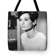 Audrey Hepburn (1929-1993) Tote Bag by Granger