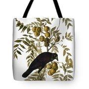 Audubon: Crow Tote Bag