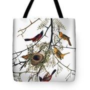 Audubon: Oriole Tote Bag