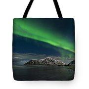 Aurora Borealis, Northern Lights Tote Bag