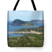 Australia - Broken Bay's Lion Island Tote Bag