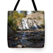Autumn At Helen Hunt Falls Colorado Tote Bag