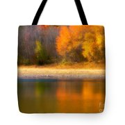 Autumn At Sawmill Lake Tote Bag