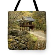 Autumn At Seonamsa Tote Bag