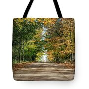 Autumn Backroad  Tote Bag
