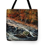 Autumn Cascade Tote Bag