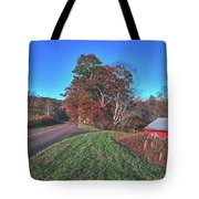 Autumn Countryside - North Carolina Tote Bag