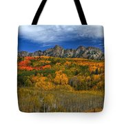 Autumn Crown Tote Bag