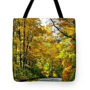 Autumn Drive No.2 Tote Bag