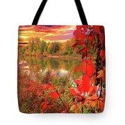 Autumn Garlands Tote Bag