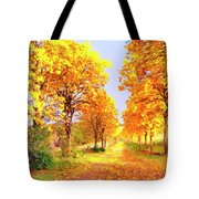 Autumn In Tuscany Tote Bag