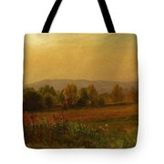 Autumn Landscape New England Tote Bag