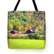 Autumn On The Farm Tote Bag