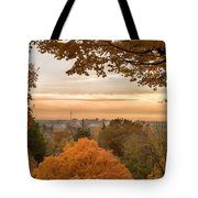 Autumn On The Hill Tote Bag