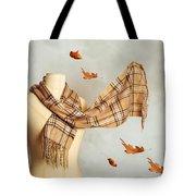 Autumn Scarf Tote Bag