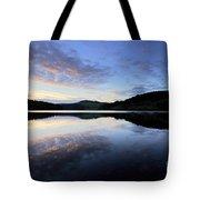 Autumn Sunset, Ladybower Reservoir Derwent Valley Derbyshire Tote Bag
