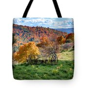 Autumn This Side Of Heaven Tote Bag
