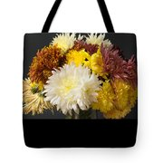 Autumn Yellow Flower Tote Bag