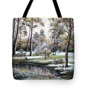 Autumnal Time.  Tote Bag