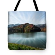 Autumn's Reflection Tote Bag