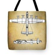 Avro Lancaster Bomber Tote Bag