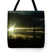 Az Cloudy Sunset Tote Bag