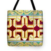 Azulejo - Geometrical Decoration  3 Tote Bag