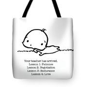 Baby Teacher Tote Bag